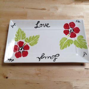 Love platter