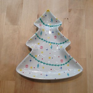 Christmas Tree dish