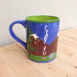 Mug w/camping image