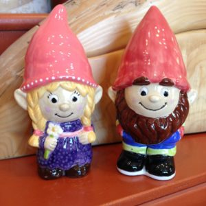 Tinkwinkle and Fudwick Gnomes