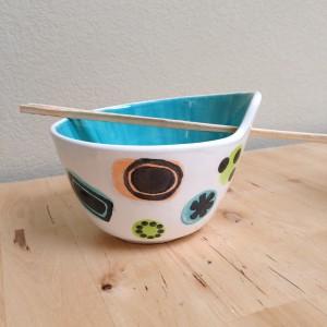 Rice Bowl w/chopsticks