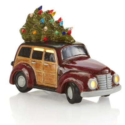 Woody Wagon w/Tree